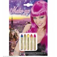 5 Hot Colours Sticks Set