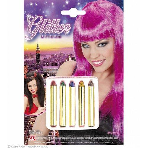 5 Glitter Sticks Set