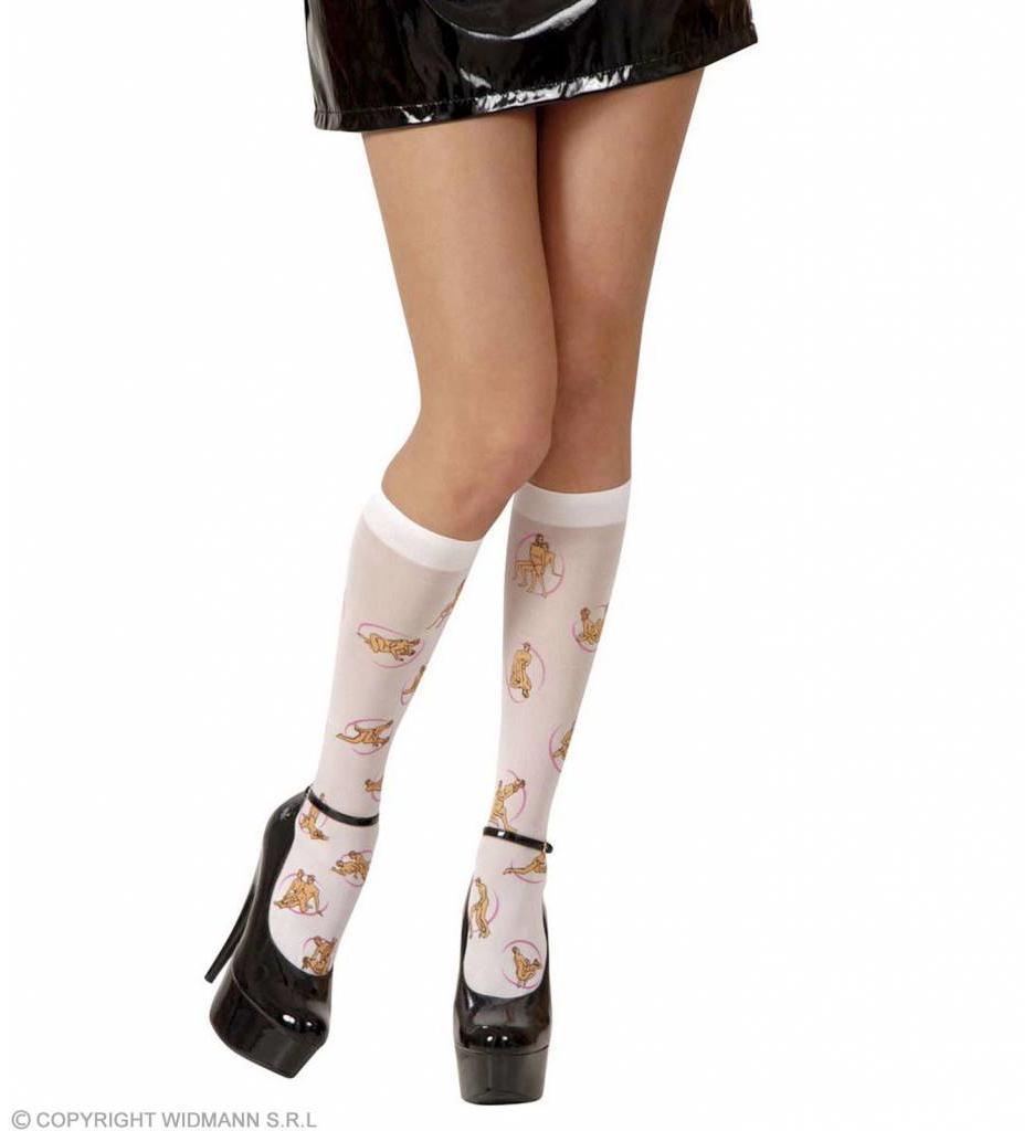 Sokken Kamasutra Wit