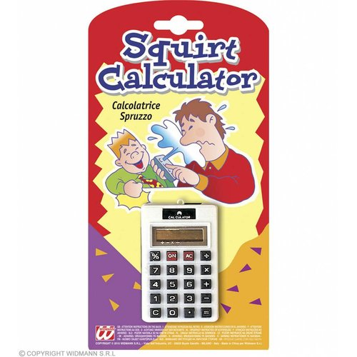 Spuitende Calculator