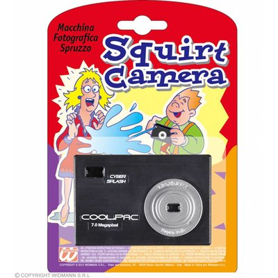 Spuitende Camera