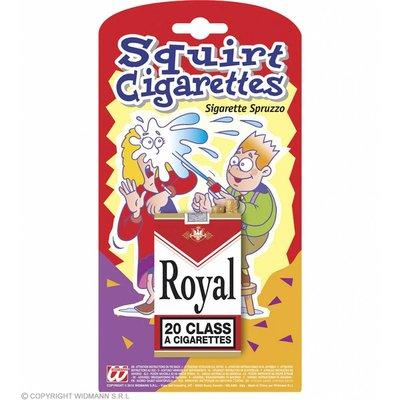 Spuitend Pakje Sigaretten