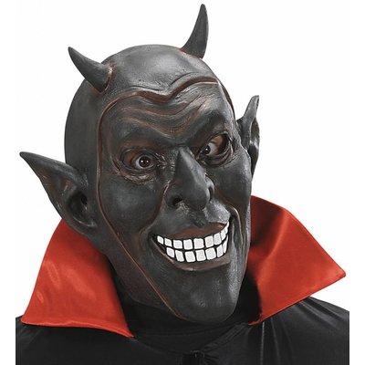 Masker Zwarte Lachende Duivel