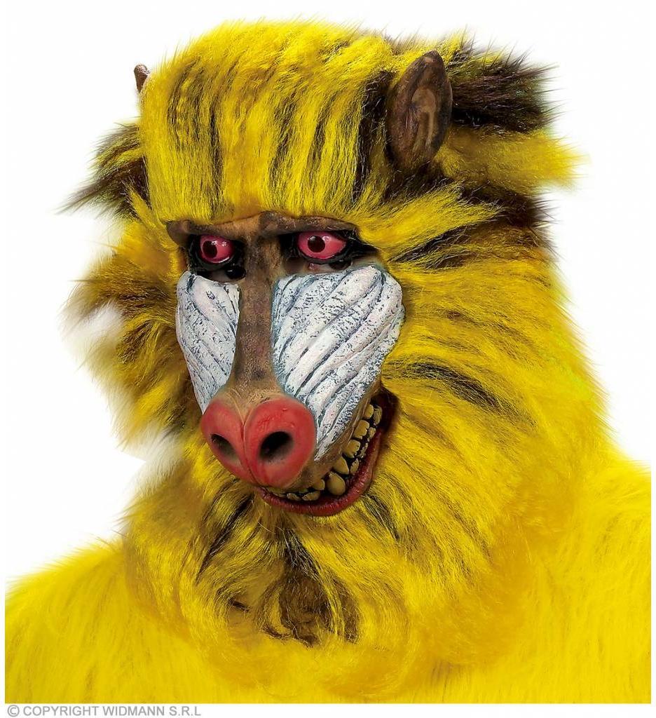 Masker Baboon Met Haar