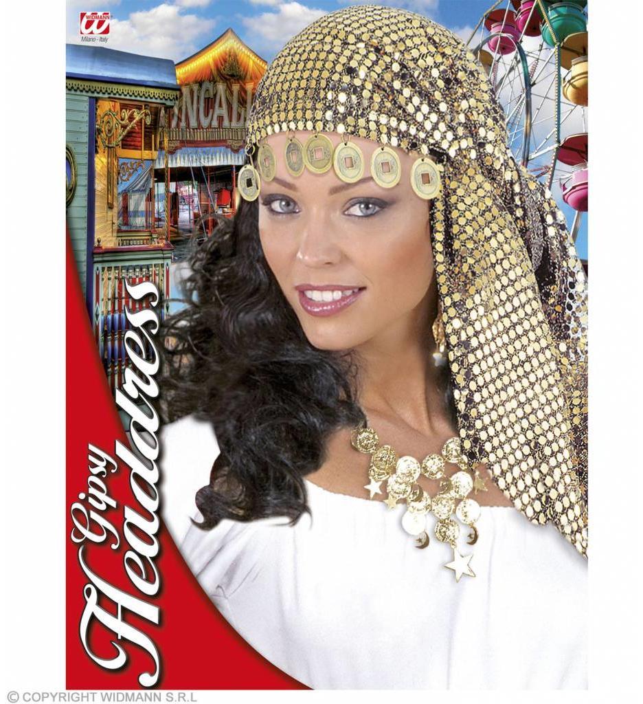Pailletten Hoofddecoratie Zigeunerin