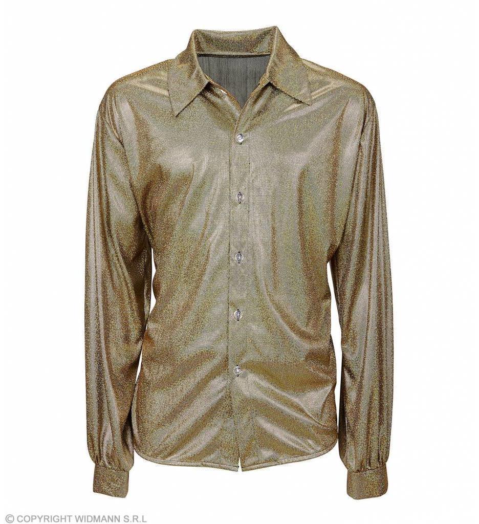Holografisch Shirt Goud