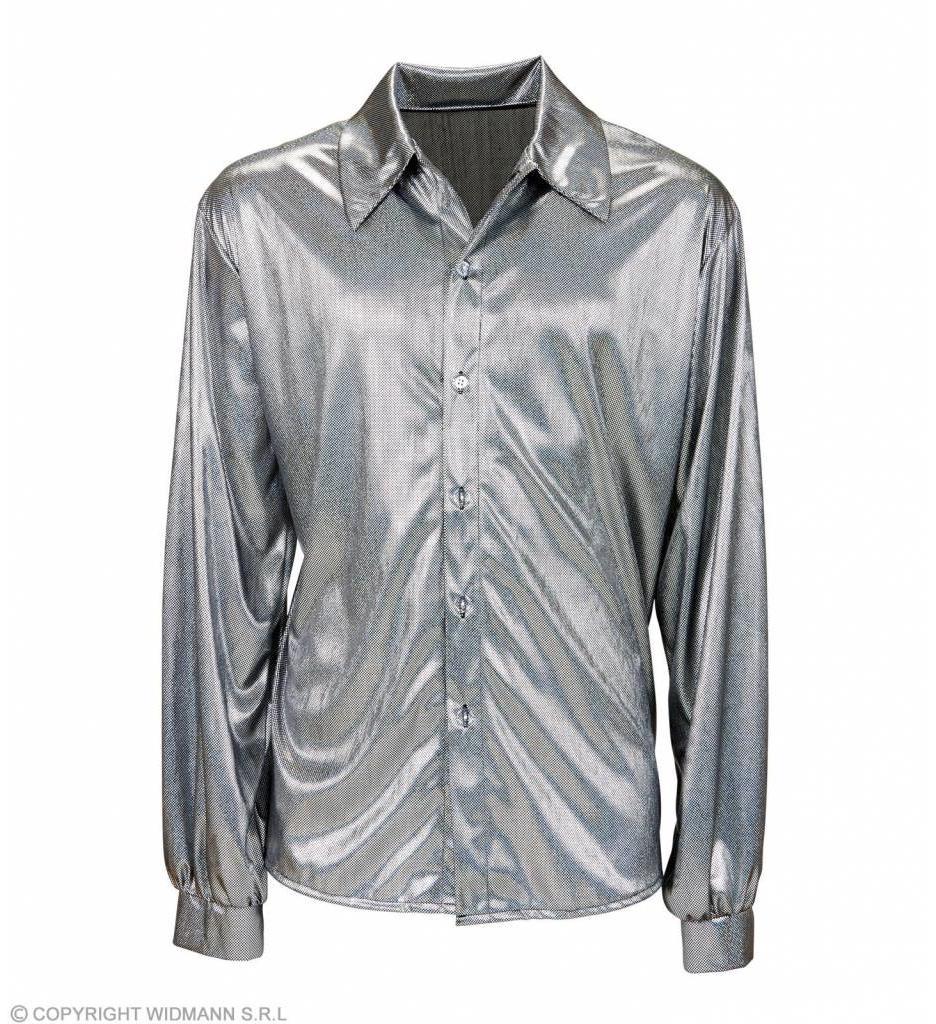 Holografisch Shirt Zilver