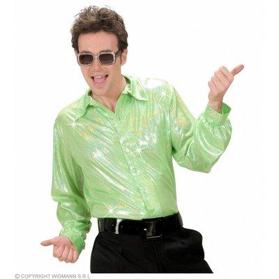 Holografisch Shirt Groen