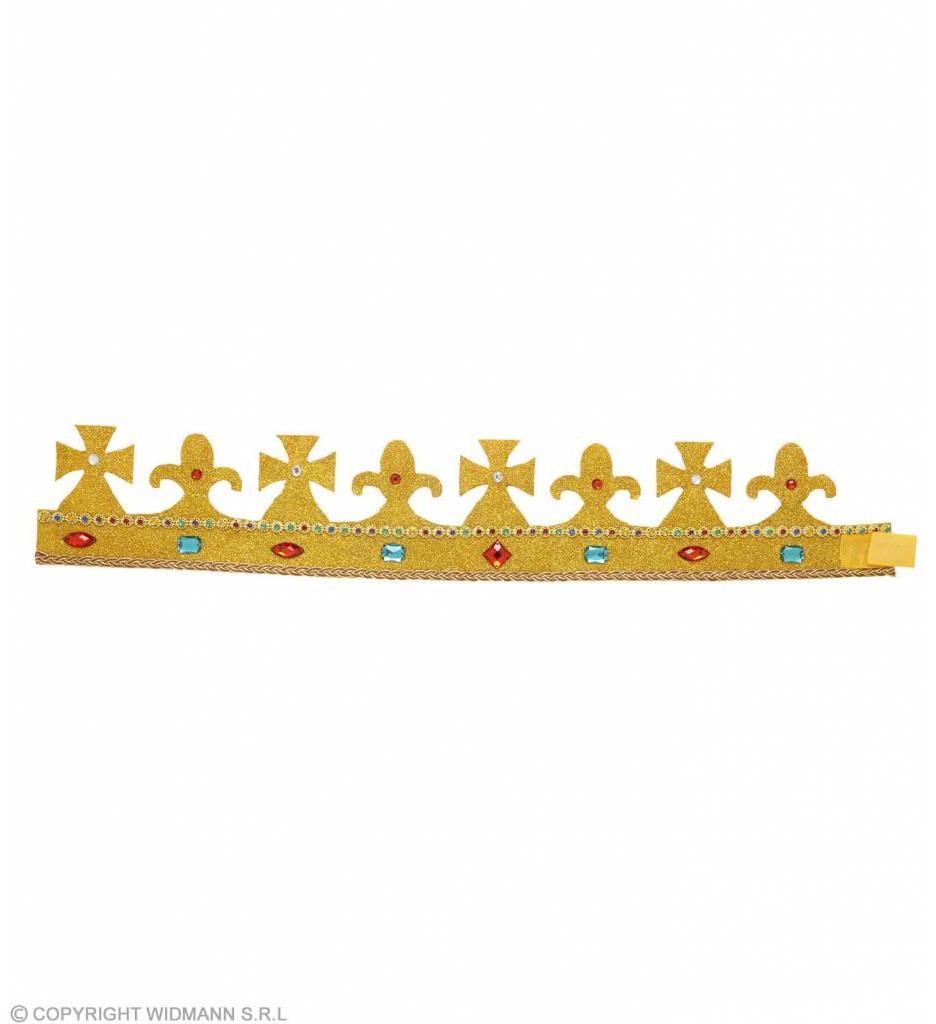 Koninklijke Kroon Met Stenen Buigbaar