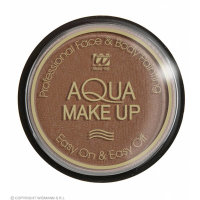 Aqua Make-Up 15Gr Bruin