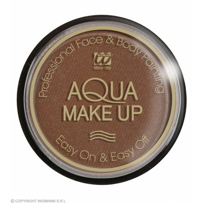 Aqua Make-Up 30Gr Bruin
