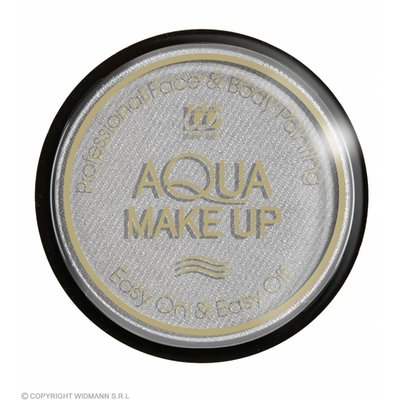 Aqua Make-Up Metalic 15Gr Zilver