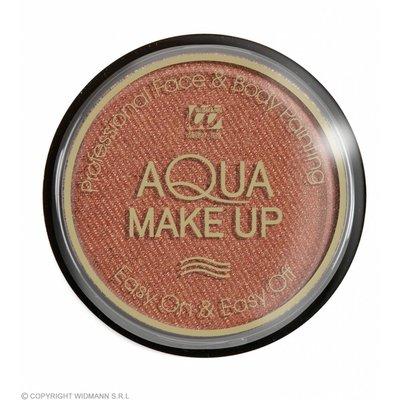 Aqua Make-Up Metalic 15Gr Brons