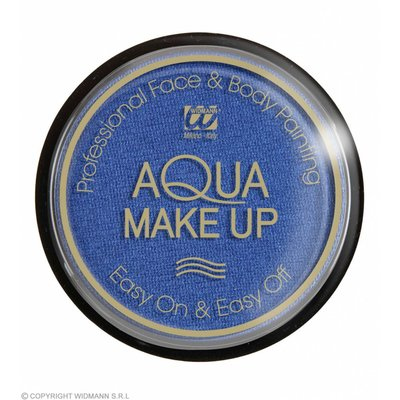 Aqua Make-Up Metalic 15Gr Blauw