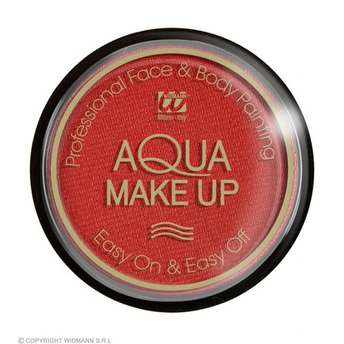 Aqua Make-Up Metalic 15Gr Rood