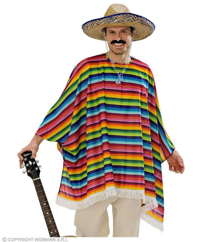 Poncho Set Met Sombrero