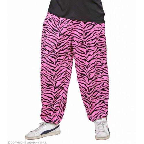 Widmann Baggy Broek 80'S Zebra Roze