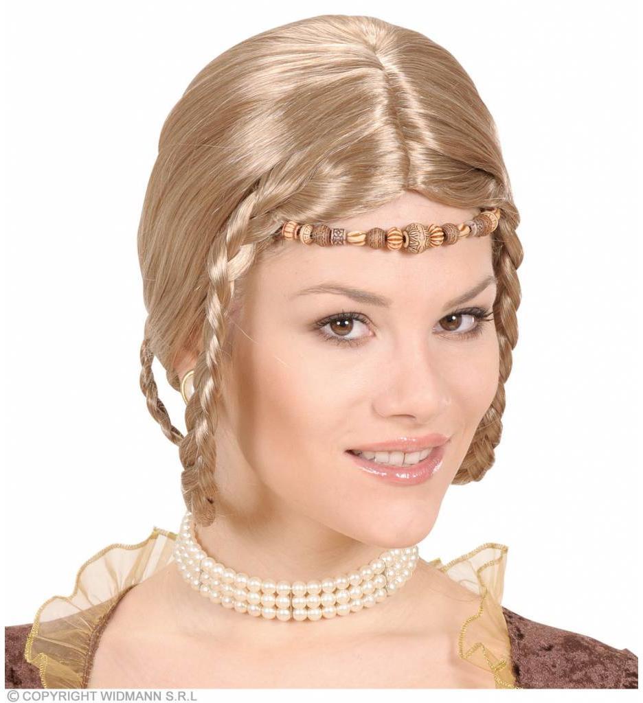 Pruik Middeleeuwse Prinses