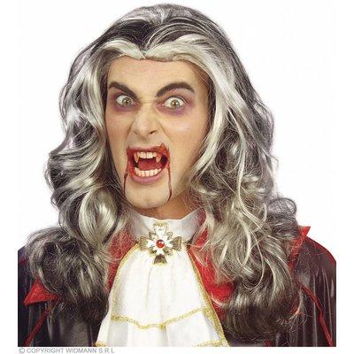 Pruik Vampier (In Plastic Zak)