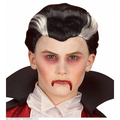 Pruik Vampier Kind (In Plastic Zak)