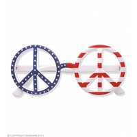 Widmann Bril Love And Peace Amerikaanse Vlag
