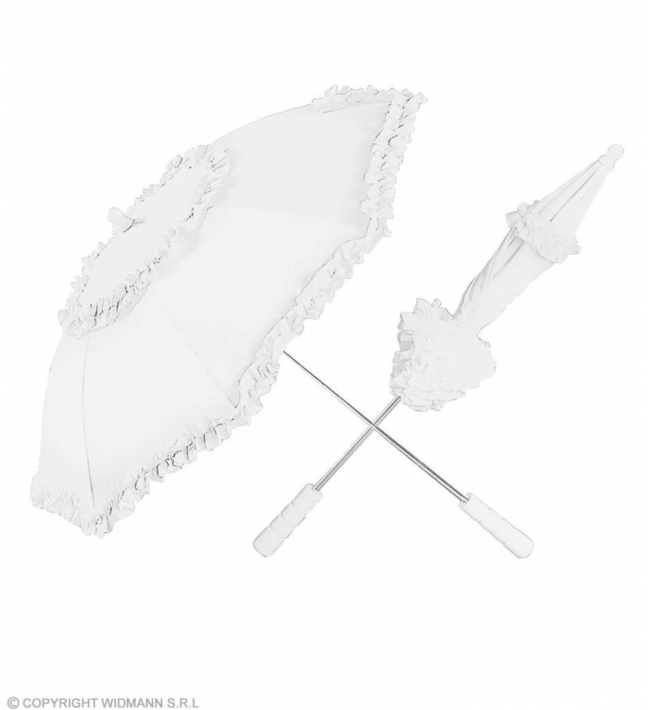 Paraplu Wit 72Cm
