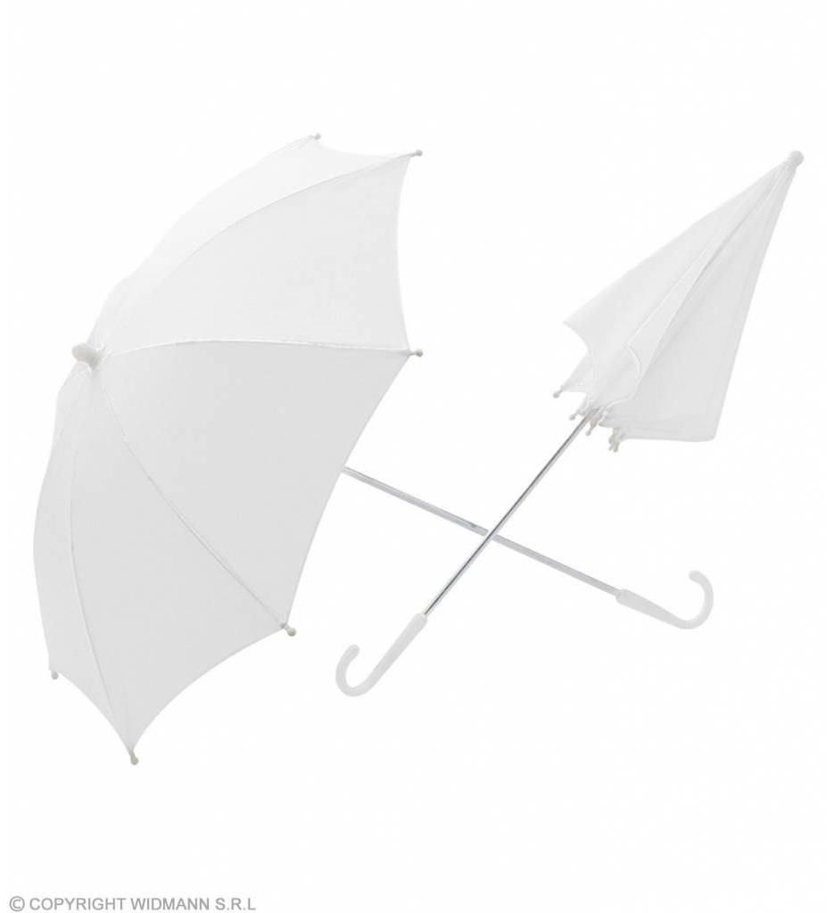 Paraplu Wit 60Cm Doorsnee