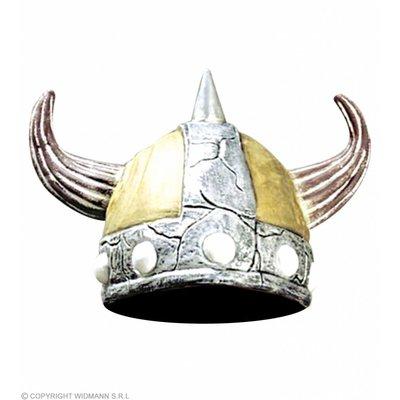 Vikinghelm Vrouw Met Nekbedekking