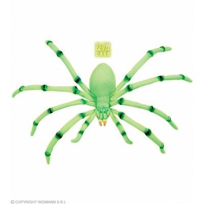 Buigzame Jumbo Spinnen 80Cm Lichtgevend In Donker