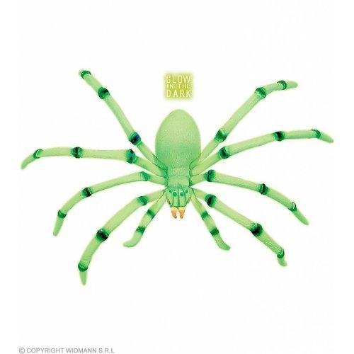 Widmann Buigzame Jumbo Spinnen 80Cm Lichtgevend In Donker