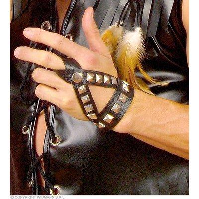 Vingerhandschoen Spijkers (Biker)