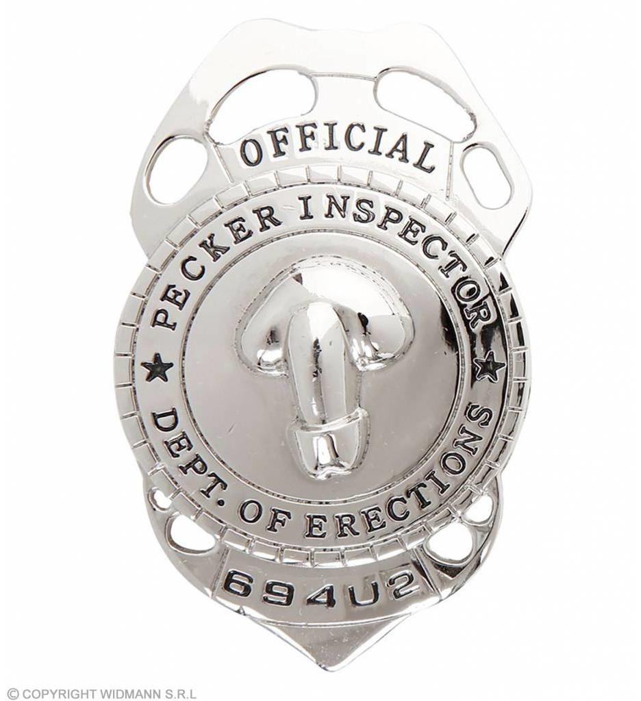 "Insigne ""Pecker Inspector"""