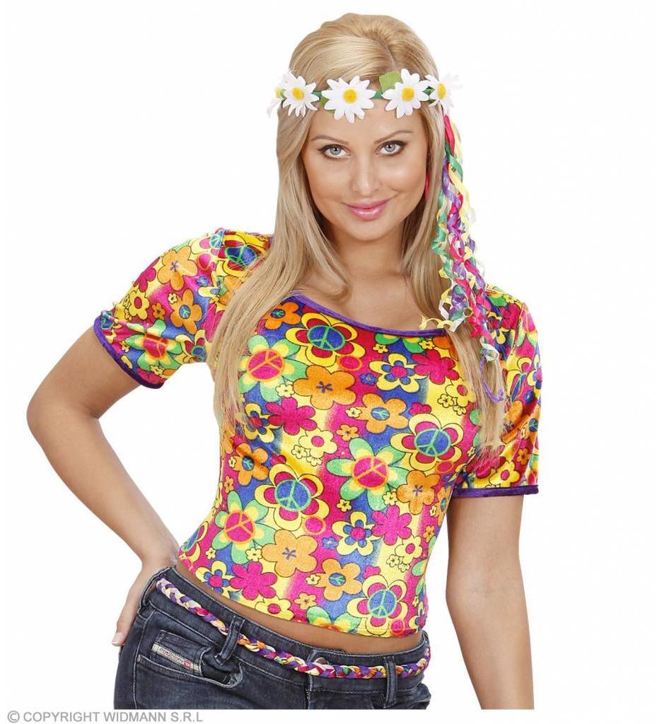 T-Shirt Hippie Fluweel
