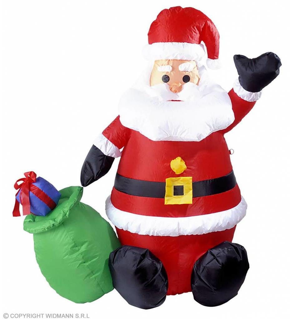 Opblaasbare Kerstman 122Cm Gebruik Binnen