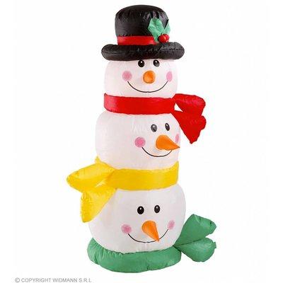 Opblaasbar Hoofd Sneeuwpop 122Cm Gebruik Binnen