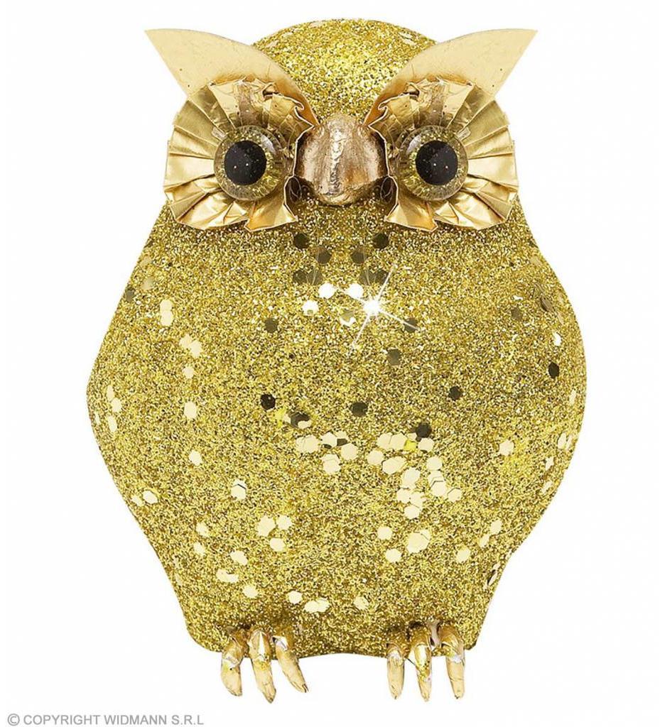 Glitter Uil Goud 105Cm