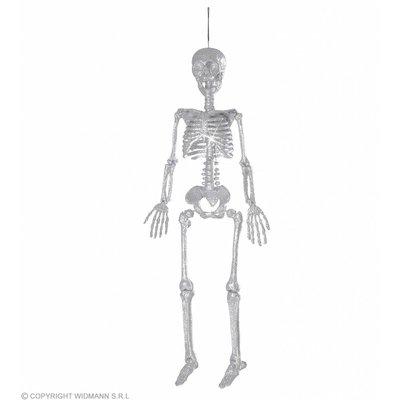 Skelet Zilver Glitter 92Cm