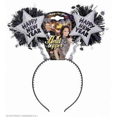 "Bopper ""Happy New Year"" Zilver"