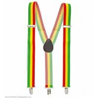 Widmann Bretels Jamaica / Carnavalskleuren