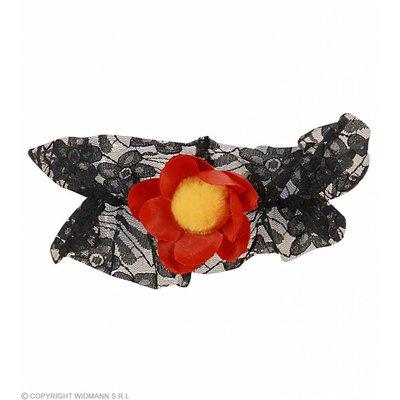 Bloemen Kousenband