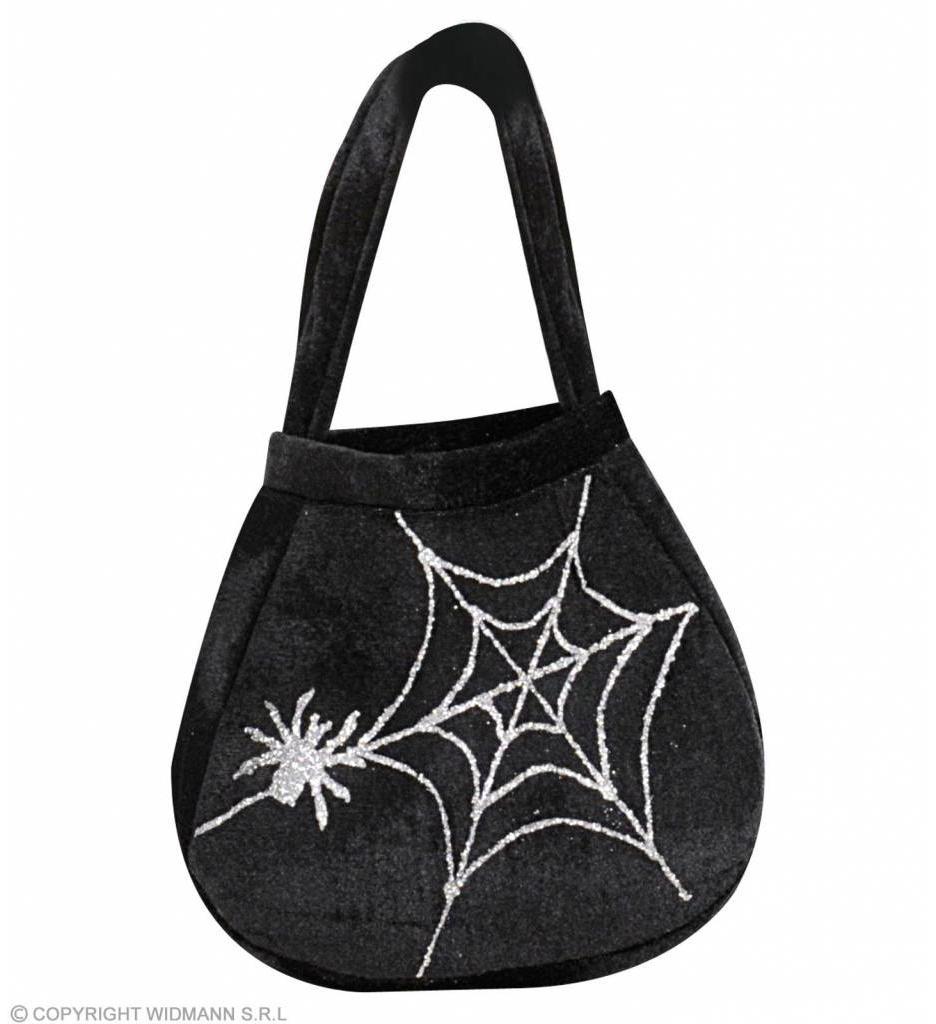Handtasje Spinneweb Met Spinnen