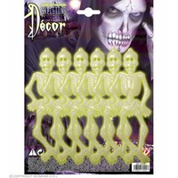 6 Skeletjes Lichtgevend In Donker