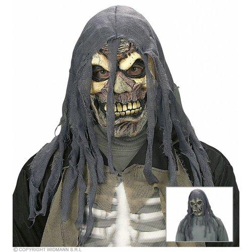 Horror Masker Met Kap Schedel Of Zombie