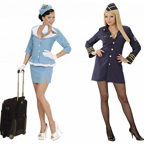 Stewardess Pakjes