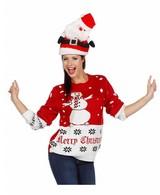 Kersttrui Sneeuwman