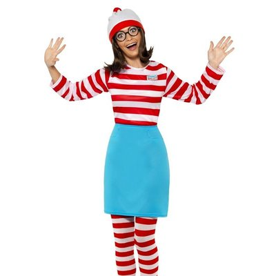 Waar is Wally Wenda Kostuum