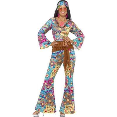 Hippie Bloemen Kostuum