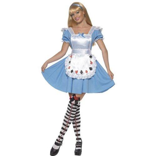 Smiffys Alice In Wonderland Jurk