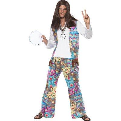 Jaren 60 Hippie Man