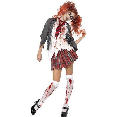 Horror Zombie Schoolmeisje